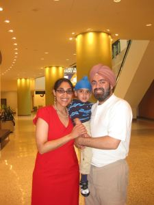 Puneet and family