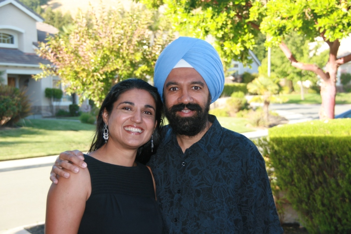 Prabhjot and Gurinder