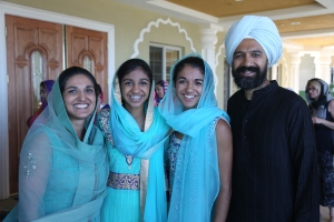 Prabhjot and her family