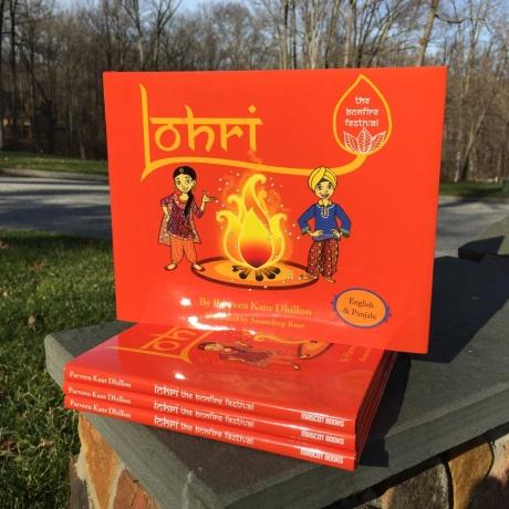 Parveen Dhillon's latest book, Lohri - The Bonfire Festival