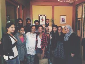 Gurleen Kaur and friends